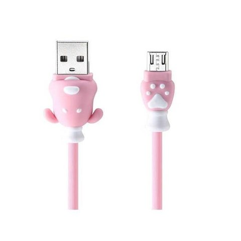 USB кабель Micro USB Remax Fortune RC-106m /pink/