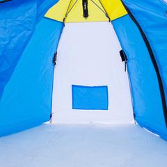 Купить зимнюю дышащую палатку-зонт СТЭК