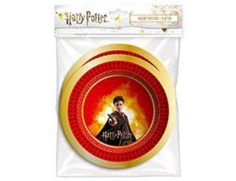 Набор тарелок Гарри Поттер 18см 6шт