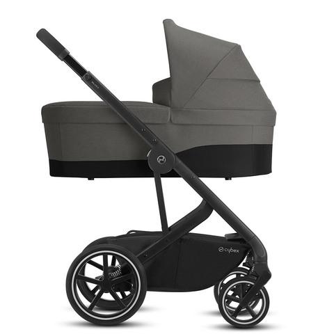 Детская коляска Cybex Balios S Lux BLK 3 в 1 Soho Grey