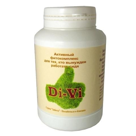 Драже на травах DI-VI при малоподвижном образе жизни 140 г (Кедровый мир)
