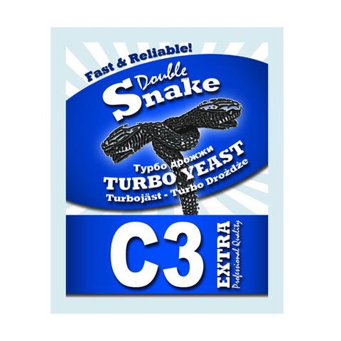Спиртовые дрожжи DoubleSnake C3 Turbo, 90 г