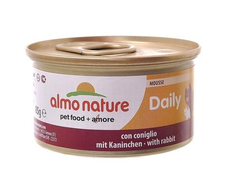 Консервы (банка) Almo Nature Daily Menu mousse with Rabbit