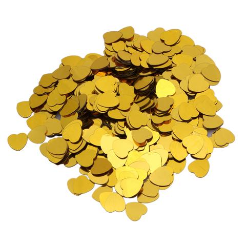 Сердца 0,7 см Золото