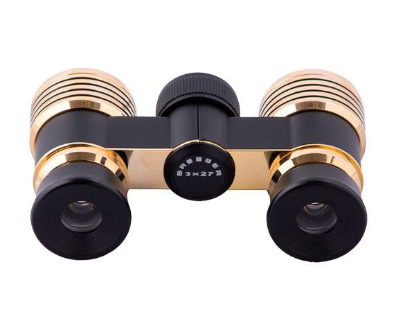 Бинокль Scala 3x27 GB, черно-золотой