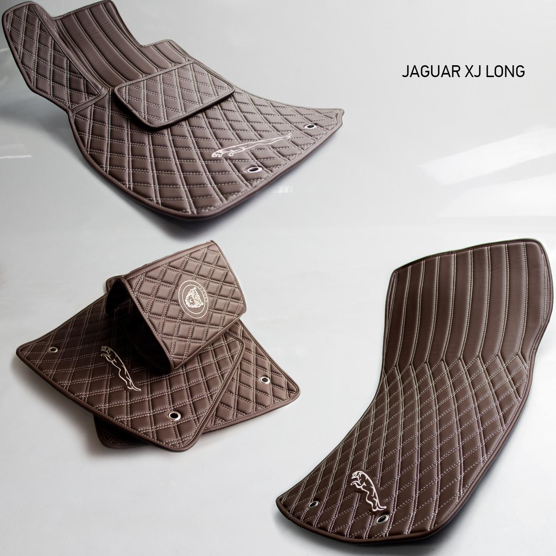 Коврики из эко-кожи Vestis для Jaguar
