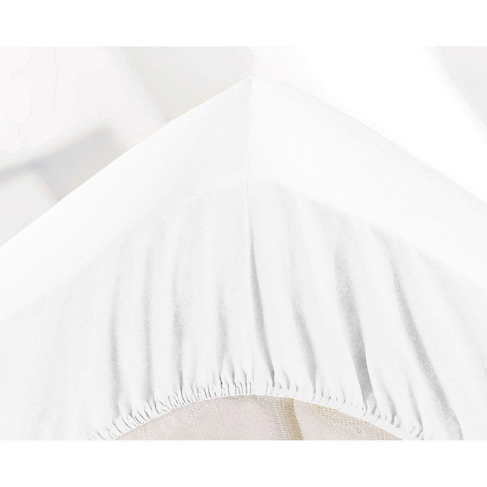 МИКРОФИБРА - Полутораспальная простыня на резинке 140х200