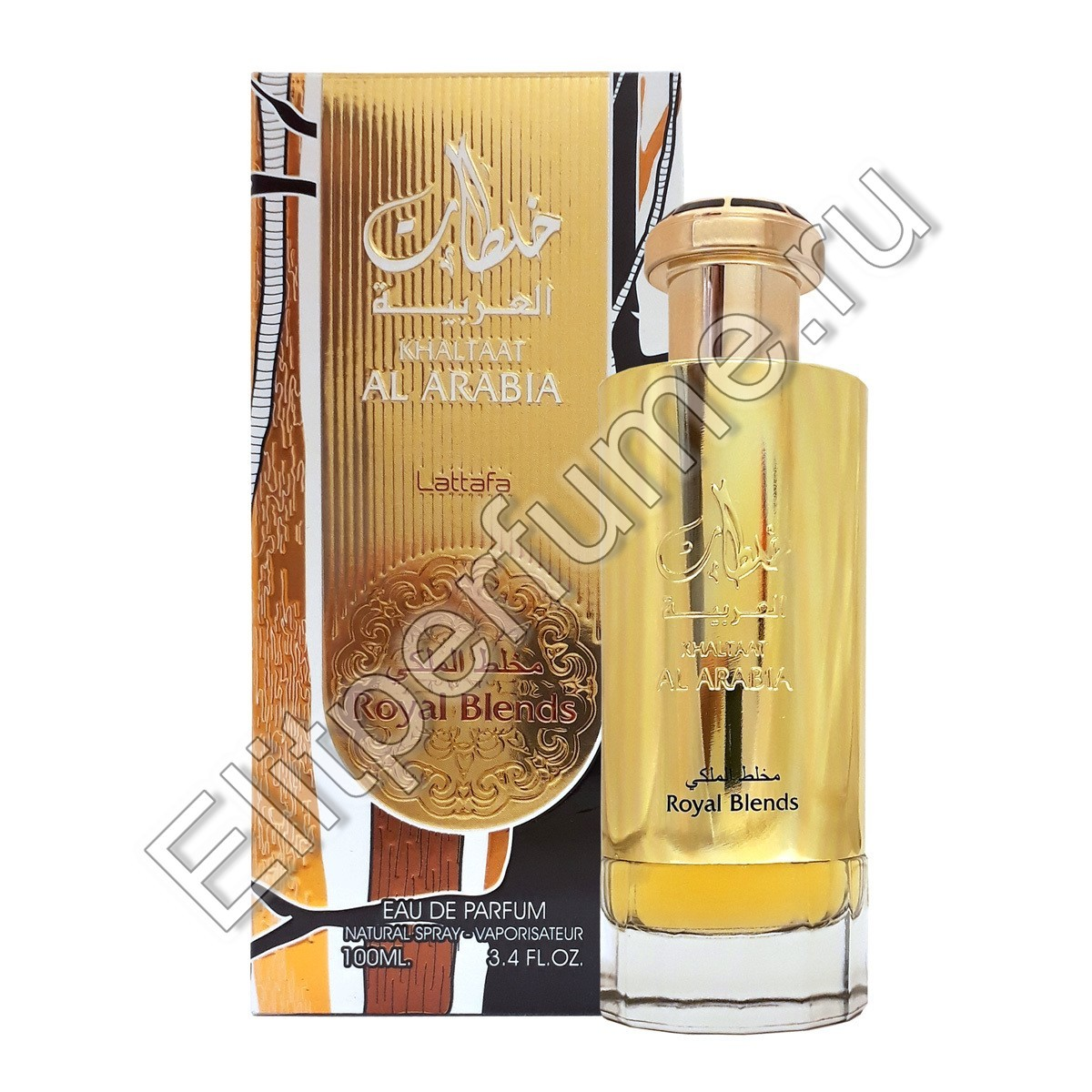 KHALTAAT AL ARABIA ROYAL BLENDS w EDP 100 мл спрей от Lattafa Латтафа