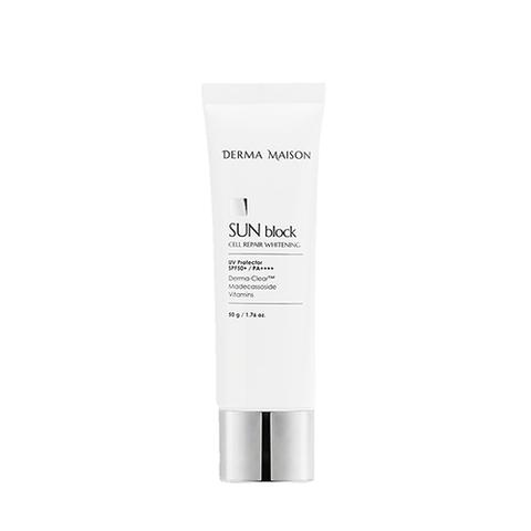 Солнцезащитный Крем MEDI-PEEL Derma Maison Sun Blok Cell Repair Whitening SPF50+ PA+++