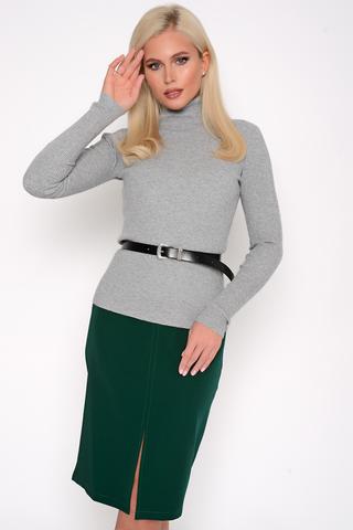 <p>Юбка - карандаш считается базовым предметом женского гардероба, который никогда не выйдет из моды. Эта&nbsp; модель отлично смотрится на всех типах фигуры. Пояс на подкройной обтачке, по спинке замок, спереди разрез.<span>(Длины: 44-57см; 46-58см; 48-59см; 50-59см; 54-60см)&nbsp;</span></p>
