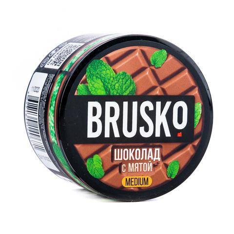 Кальянная смесь BRUSKO 50 г Шоколад с Мятой