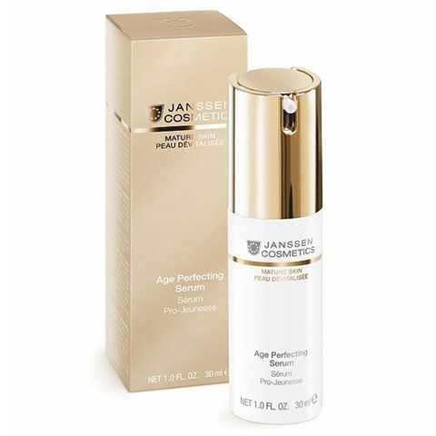 Janssen Mature Skin: Anti-age разглаживающая и укрепляющая сыворотка для лица с комплексом Cellular Regeneration (Age Perfecting Serum)