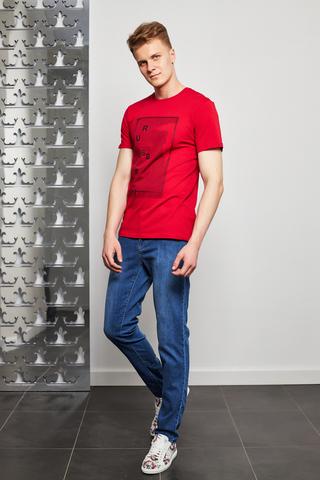 Trussardi Jeans Футболка с аппликацией