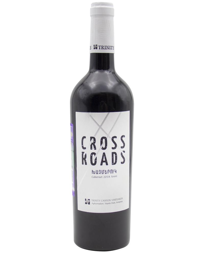 Вино Красное сухое Тринити Кросродс Каберне Арени 14%, 0,75л.
