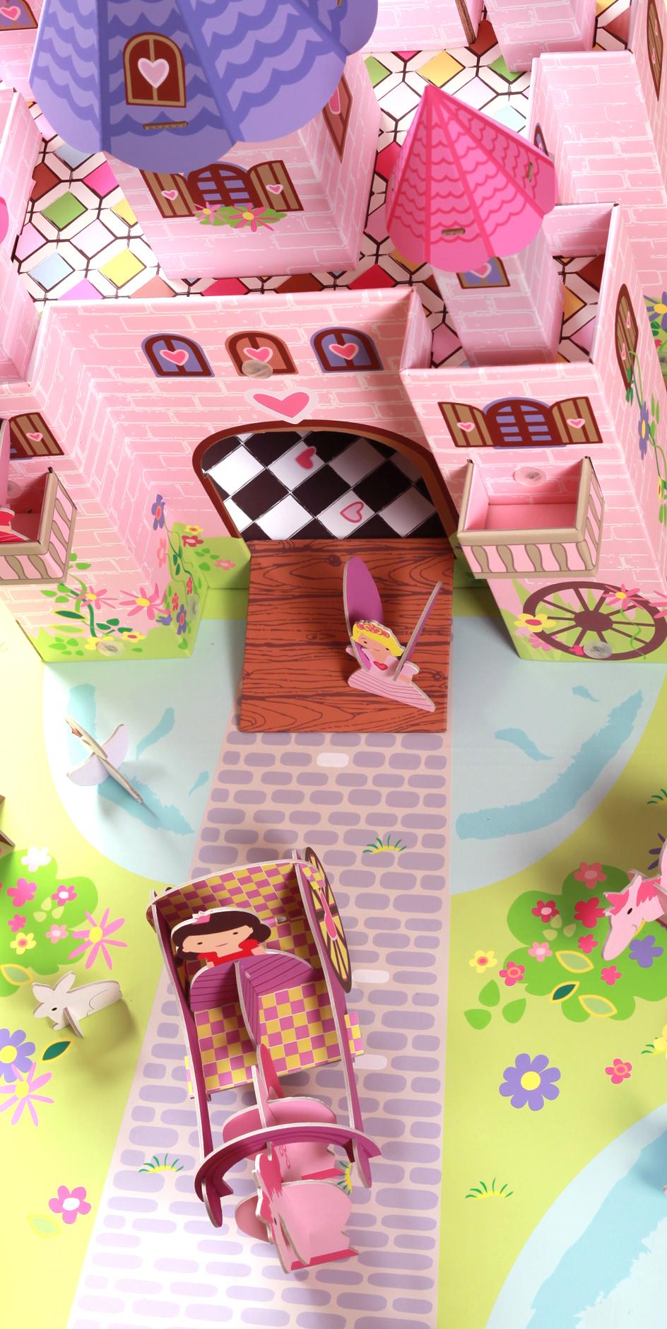 Игровой набор Krooom Замок Принцессы Тринни