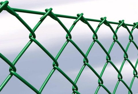 Сетка рабица зеленая ПНД 6005 зеленая
