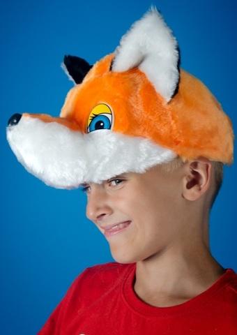 Карнавальная шапочка Лиса 2