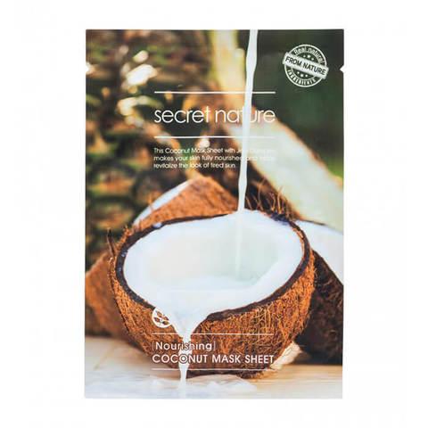 Secret Nature Nourishing Coconut Mask Sheet Питательная маска для лица с кокосом 25мл
