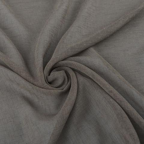 Ткань хлопок Иви коричневый