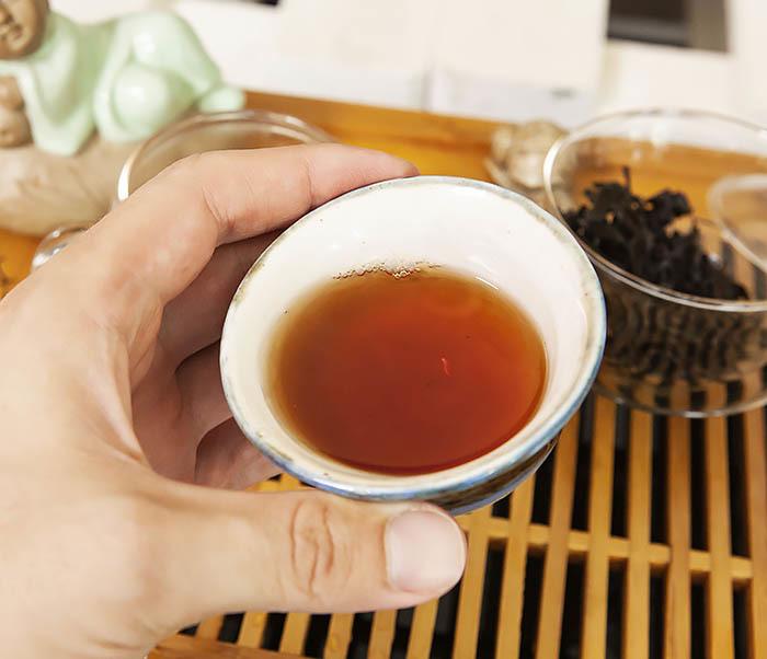TEA-CH115 Китайский чай «Большой Красный Халат» (Да Хун Пао, сильная обжарка, 50 гр) фото 17