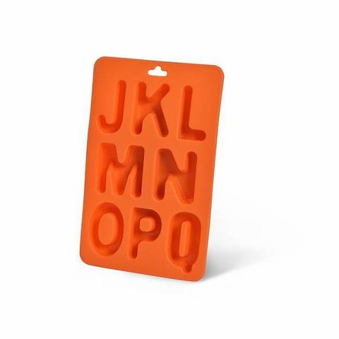 "7219 FISSMAN Форма для льда ""алфавит J - Q"",  купить"