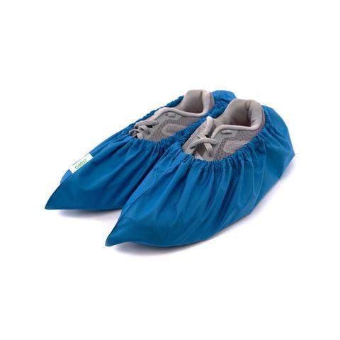 Многоразовые бахилы ZEERO Dewspo с мешочком, голубые