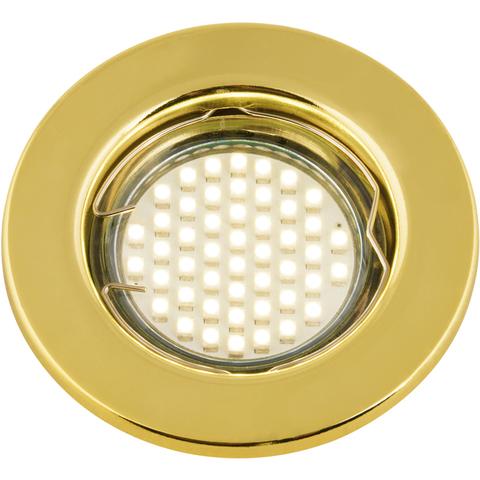DLS-A104 GU5.3 GOLD Светильник декоративный встраиваемый ТМ