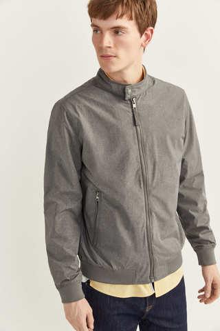 Легка куртка з хлястиками на комірі