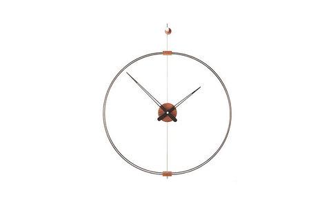 Часы настенные Mini Barcelona черный-орех
