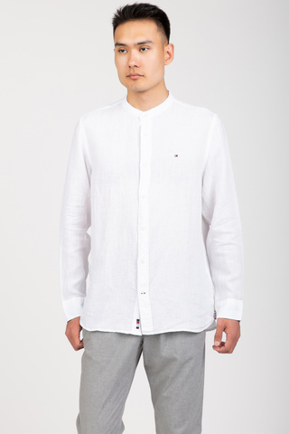 Рубашка PIGMENT DYED MAO COLLAR SHIRT Tommy Hilfiger