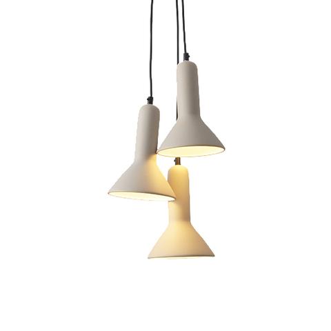 Подвесной светильник копия TORCH S1 by Sylvain Willenz (белый, 3 плафона)