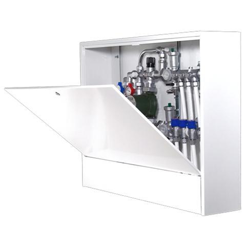 Шкаф распределительный наружный STOUT - 651x362x180 мм (с внутренней дверцей)