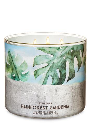 Свеча Bath&BodyWorks Rainforest Gardenia