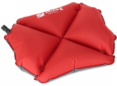 Надувная подушка Klymit Pillow X Red, красная