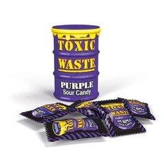 Кислые леденцы Toxic Waste Purple 42 гр