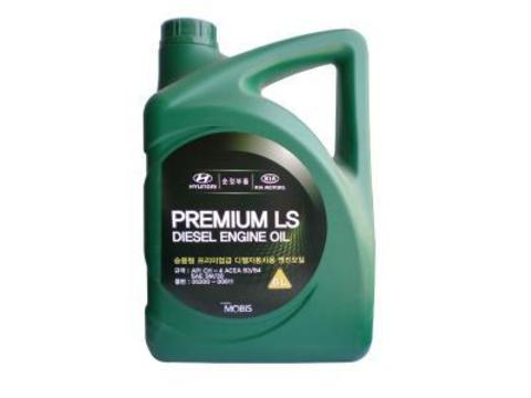 HYUNDAI PREMIUM LS DIESEL 5W30 CH-4 Масло моторное полусинт. (пластик/Корея)