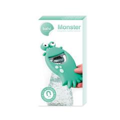 Открывалка Monster бирюзовая магнитная, фото 4