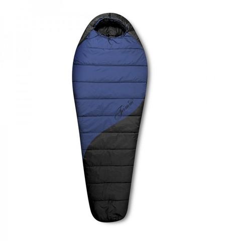 Зимний спальный мешок Trimm BALANCE, 195 L (синий)