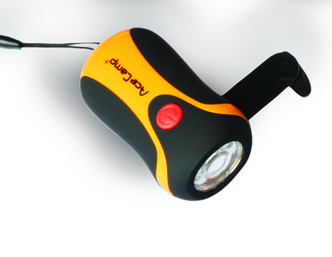 Динамо-фонарь AceCamp 0.5W Superbright LED Flashlight