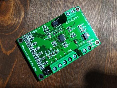 Converter Yaesu ABCD BandData to ICOM Voltage
