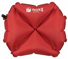 Надувная подушка Klymit Pillow X Red, красная - 2