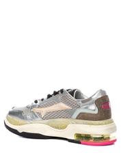 Комбинированные кроссовки Premiata Drake-d 036 на шнуровке