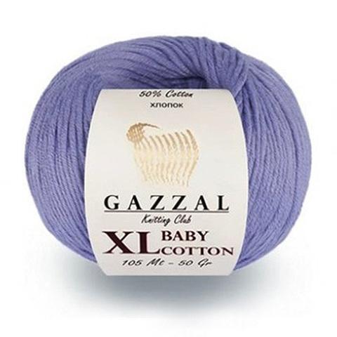 GAZZAL BABY COTTON XL (50% Хлопок, 50% Полиакрил, 50гр/105м)