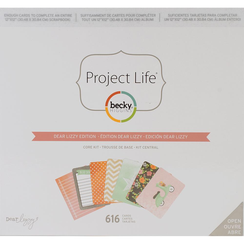 Neapolitan edition CORE KIT- комплект карточек для Project Life 616шт