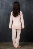Персиковая пижама для девочек Story Loris