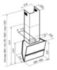 Вытяжка Korting KHC 69080 GN - схема