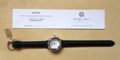 Сертификат (паспорт) на часы из муранского стекла бренда Bottega Murano
