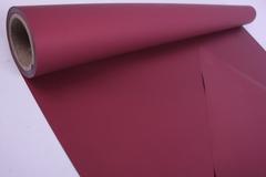 Матовая бумага Бургундский / рулон 0,5*10м, 50мкр