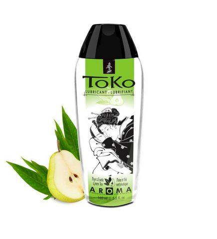 Интимный гель Shunga TOKO Pear   Exotic Green Tea с ароматом груши и зеленого чая - 165 мл.