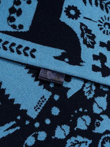 Winter Evening - blue tones No. 3.3 (No fringe)